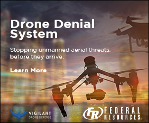 Federal Resources sponsorship ad - Drones