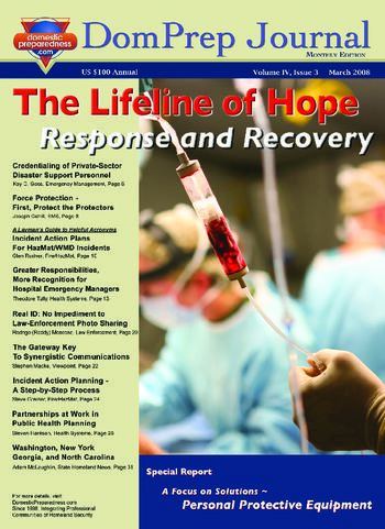 DomPrep Journal: The Lifeline of Hope, Response and Recovery | DomPrep Journal