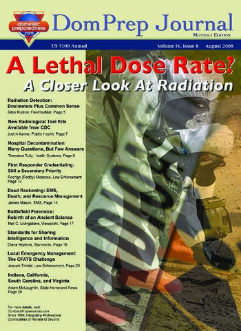 A Lethal Dose Rate? A Closer Look At Radiation | DomPrep Journal