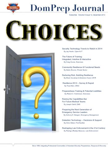 CHOICES | DomPrep Journal
