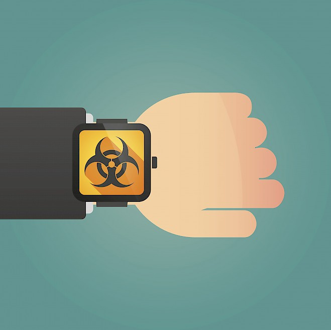Wearable Sensors for Chemical & Biological Detection