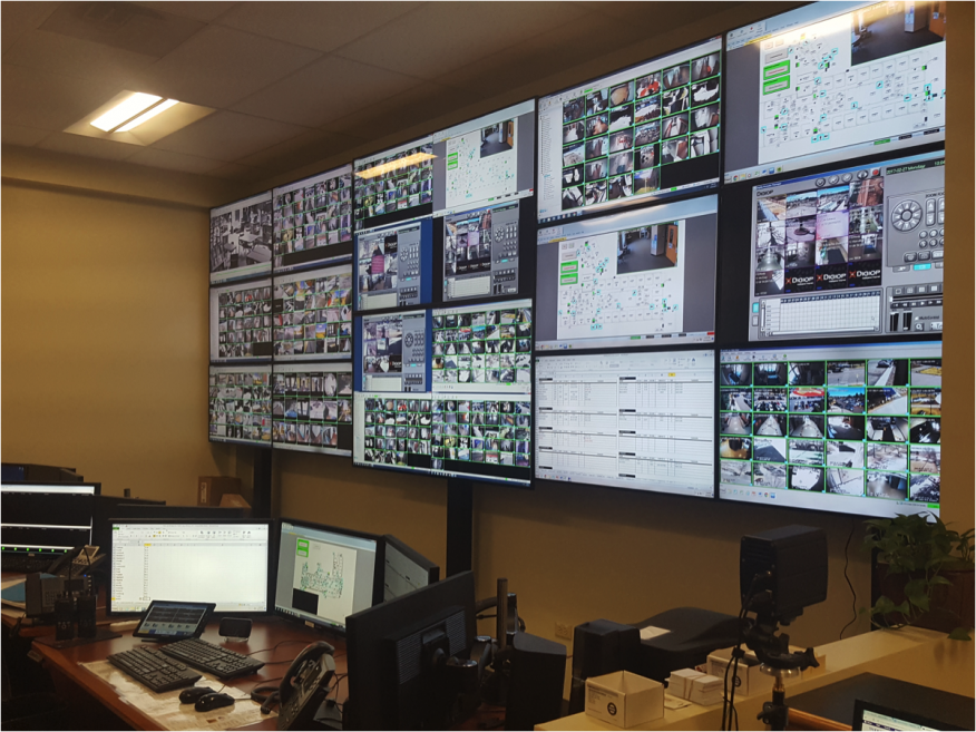 Helping School Districts Move Forward After Tragedy. Command center for Littleton Public Schools (LPS) security project.