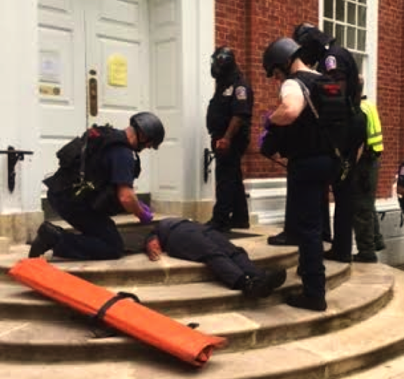 Active Shooter Incidents: The Rescue Task Force Concept