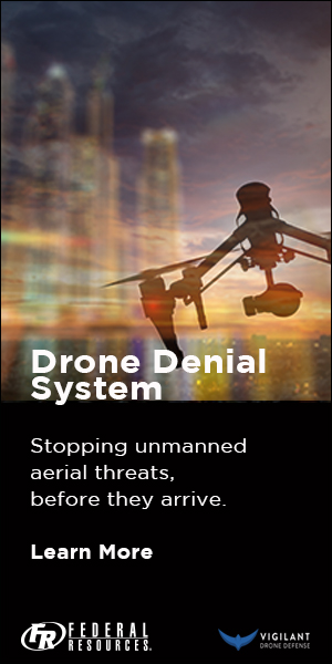 Federal Resources Drone tower ad