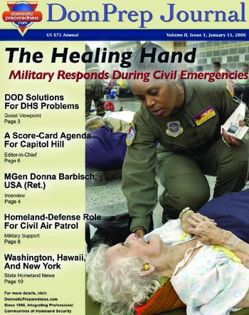 DomPrep Journal: The Healing Hand - Military Responds During Civil Emergencies, Volume II, Issue 1 | DomPrep Journal