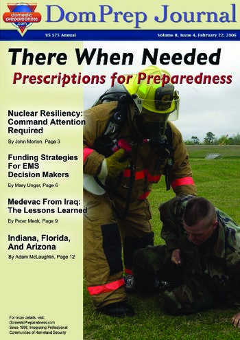 DomPrep Journal: There When Needed, Prescriptions for Preparedness | DomPrep Journal