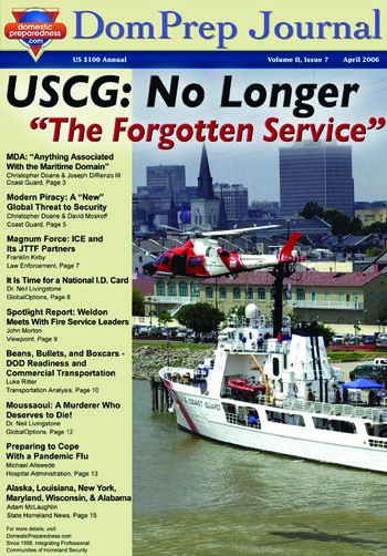 "DomPrep Journal: USCG: No Longer ""The Forgotten Service"" 