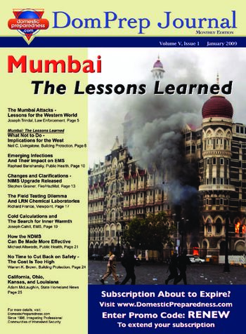 Mumbai, The Lessons Learned | DomPrep Journal