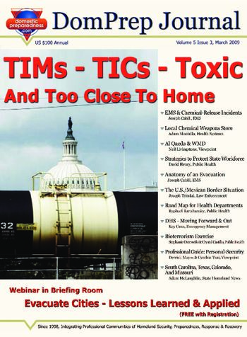 TIMs - TICs - Toxic, And Too Close To Home  | DomPrep Journal