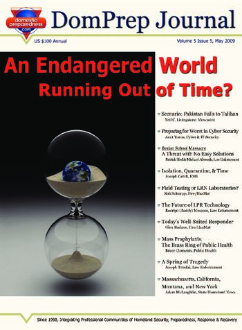 An Endangered World, Running Out of Time? | DomPrep Journal