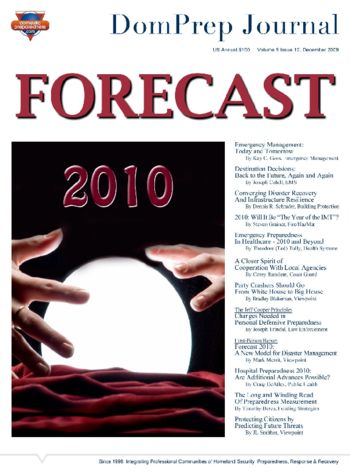 FORECAST 2010 | DomPrep Journal