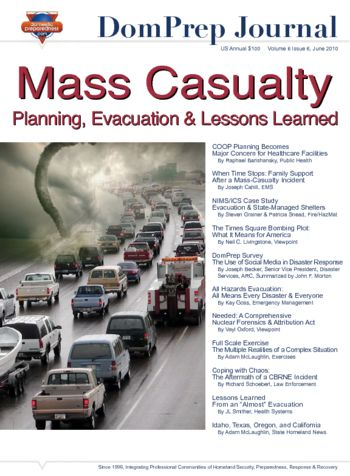 Mass Casualty - Planning, Evacuation & Lessons Learned | DomPrep Journal