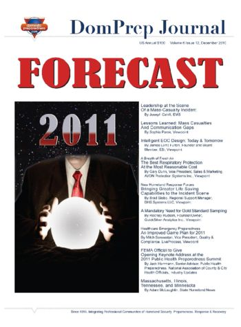 FORECAST 2011 | DomPrep Journal