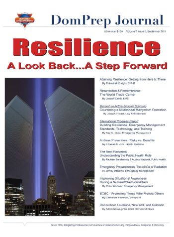 Resilience - A Look Back...A Step Forward | DomPrep Journal
