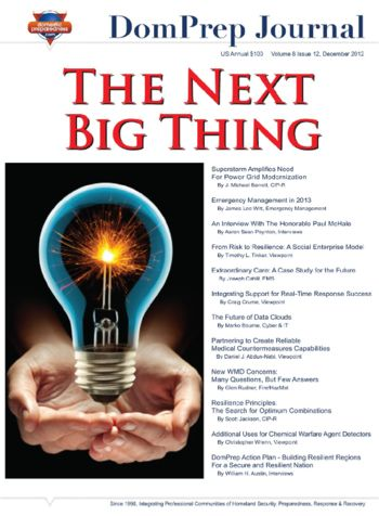 The Next Big Thing | DomPrep Journal