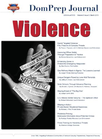 Violence | DomPrep Journal