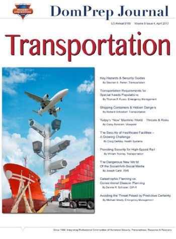 Transportation | DomPrep Journal