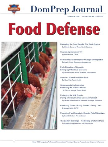 Food Defense | DomPrep Journal