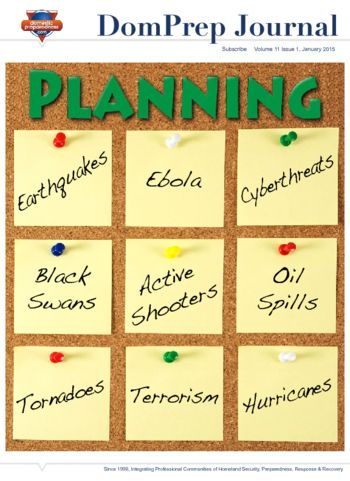 PLANNING | DomPrep Journal