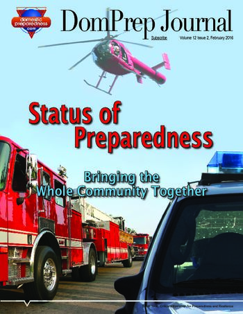 Status of Preparedness | DomPrep Journal